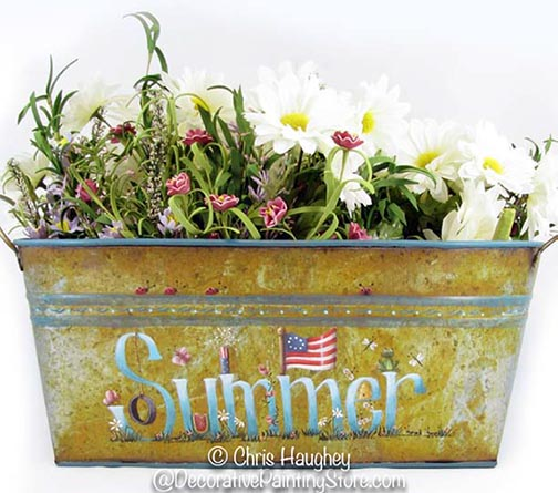 Summer Window Box Pattern DOWNLOAD