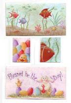 Spring & Summer Checkbook Covers & Photo Pen Inserts e-Pattern DOWNLOAD
