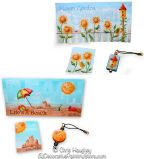 Garden & Beach Checkbook Covers & Photo Pen Inserts e-Pattern DOWNLOAD