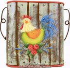 Rooster Card Pocket Pattern BY DOWNLOAD