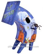Crazy Trick or Treat Crooked Birdhouse Pattern DOWNLOAD