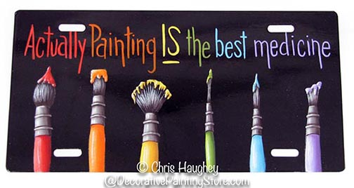 Painting IS the Best Medicine Pattern BY DOWNLOAD