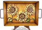 Sunflower Tray Pattern BY DOWNLOAD