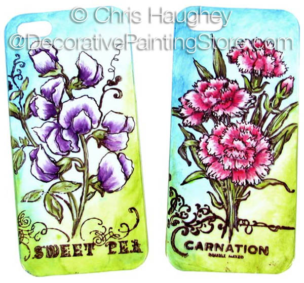 Floral iPhone Covers ePattern - Chris Haughey - PDF DOWNLOAD