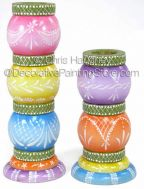 Stacking Lace Candlesticks ePattern - Chris Haughey - PDF DOWNLOAD