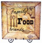 Family, Food, Friends Tray ePattern - Chris Haughey - PDF DOWNLOAD