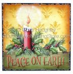Candlelight Christmas Plaque ePattern - Chris Haughey - PDF DOWNLOAD