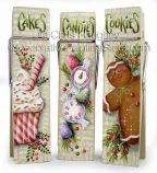 Christmas Sweet Treat Clips ePattern - Chris Haughey - PDF DOWNLOAD