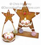 Gingerbread Spice Stars ePattern - Chris Haughey - PDF DOWNLOAD