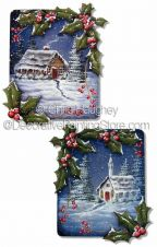 Holly Border Ornaments ePattern - Chris Haughey - PDF DOWNLOAD