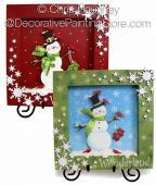 Wonderland Snowman Shadowboxes ePattern - Chris Haughey - PDF DOWNLOAD