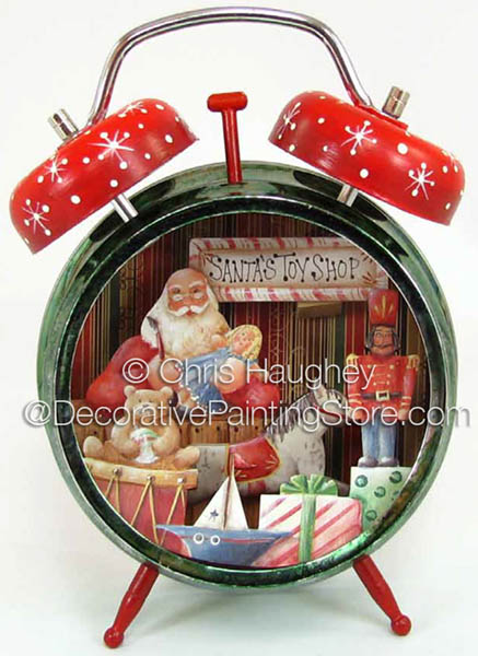 Santa Toy Time Clock ePattern - Chris Haughey - PDF DOWNLOAD