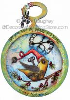Merry and Bright Steampunk Pocketwatch ePattern - Chris Haughey - PDF DOWNLOAD