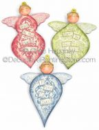 Heavenly Hosts Angel Ornaments ePattern - Chris Haughey - PDF DOWNLOAD