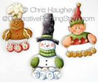 Jingle Joy Ornaments ePattern - Chris Haughey - PDF DOWNLOAD