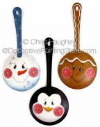 Cheeky Christmas Spoons ePattern - Chris Haughey - PDF DOWNLOAD