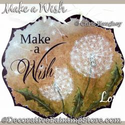 Make a Wish (Dandelions) Painting Pattern DOWNLOAD - Chris Haughey