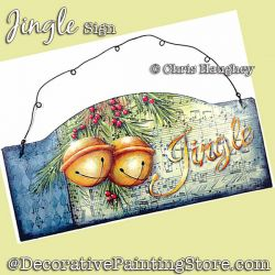 Jingle Sign Painting Pattern DOWNLOAD - Chris Haughey