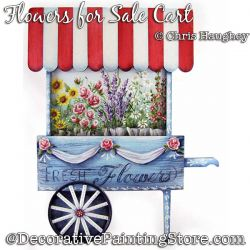 Flowers for Sale Cart Painting Pattern DOWNLOAD - Chris Haughey