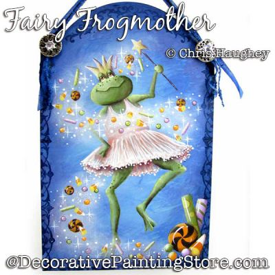 Fairy Frogmother  Painting Pattern DOWNLOAD - Chris Haughey