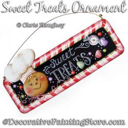 Sweet Treats Ornament Painting Pattern DOWNLOAD - Chris Haughey