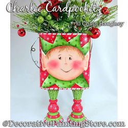 Charlee Cardpocketz Painting Pattern DOWNLOAD - Chris Haughey