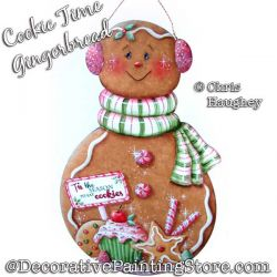 Cookie Time Gingerbread Painting Pattern DOWNLOAD - Chris Haughey