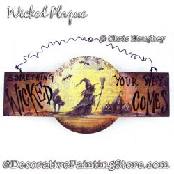 Wicked Sign Painting Pattern PDF DOWNLOAD - Chris Haughey