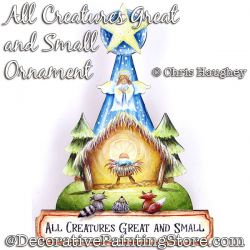 All Creatures Great and Small Ornament Painting Pattern DOWNLOAD - Chris Haughey