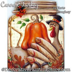 Canned Turkey Painting Pattern PDF DOWNLOAD - Chris Haughey