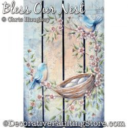 Bless Our Nest Painting Pattern DOWNLOAD - Chris Haughey