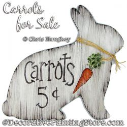 Carrots for Sale Painting Pattern DOWNLOAD - Chris Haughey