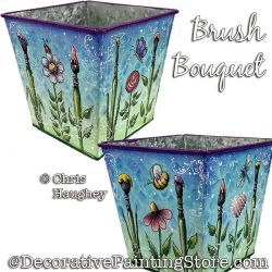 Brush Bouquet Painting Pattern PDF DOWNLOAD - Chris Haughey