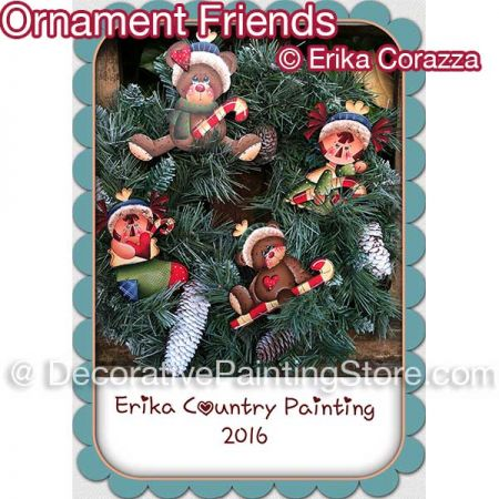 Ornament Friends - Erika Corazza - PDF DOWNLOAD