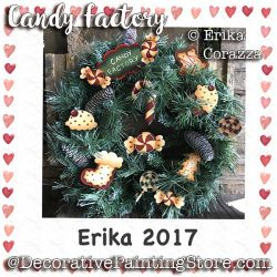Candy Factory Ornaments- Erika Corazza - PDF DOWNLOAD