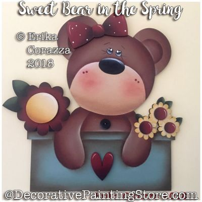 Sweet Bear in the Spring - Erika Corazza - PDF DOWNLOAD