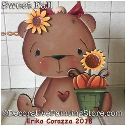 Sweet Fall Paper Towel Holder DOWNLOAD - Erika Corazza