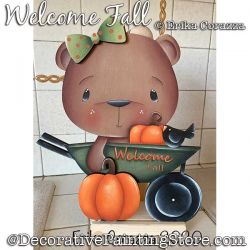 Welcome Fall Paper Towel Holder DOWNLOAD - Erika Corazza