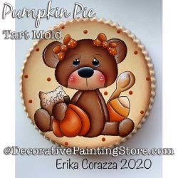 Pumpkin Pie Tart Mold DOWNLOAD - Erika Corazza