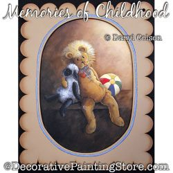 Memories of Childhood PDF DOWNLOAD Painting Pattern - Daryl Colson