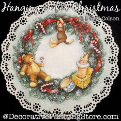 Hanging on for Christmas PDF DOWNLOAD Painting Pattern - Daryl Colson
