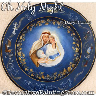 Oh Holy Night PDF DOWNLOAD Painting Pattern - Daryl Colson