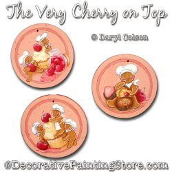 The Very Cherry on Top (Gingerbread) PDF DOWNLOAD Painting Pattern - Daryl Colson
