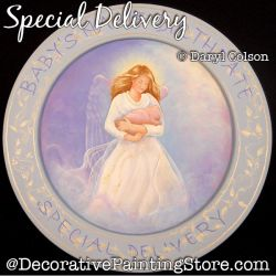 Special Delivery PDF DOWNLOAD Painting Pattern - Daryl Colson