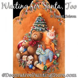 Waiting for Santa Too PDF DOWNLOAD Painting Pattern - Daryl Colson