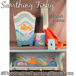 Something Fishy Painting Pattern PDF DOWNLOAD - Daryl Colson