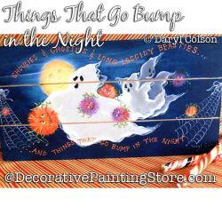Things That Go Bump in the Night (Ghosts) Painting Pattern PDF DOWNLOAD - Daryl Colson