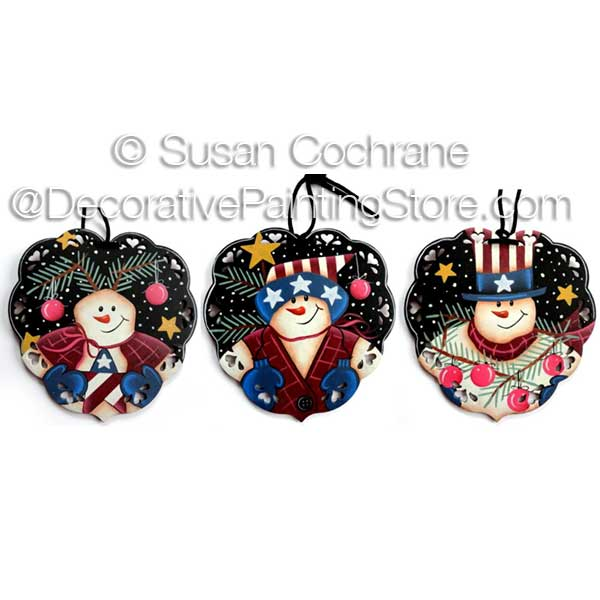 Luv the USA Snow Buddies ePattern - Susan Cochrane