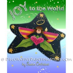 Joy to the World Angel Ornament ePattern - Susan Cochrane