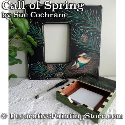 Call of Spring Desk Set ePattern - Susan Cochrane